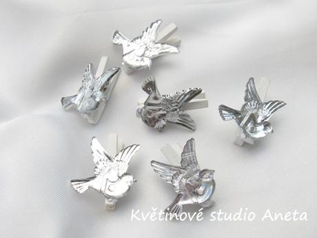 Kolíček s holubičkou - Obrázek č. 1