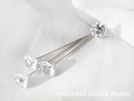 Špendlík s diamantem velký - Obrázek č. 1