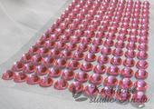 Nalepovací kamínky růžové,