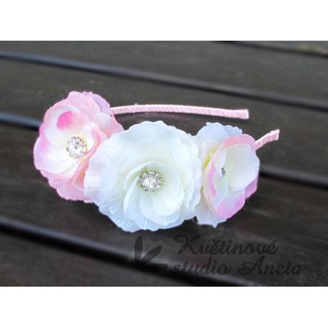 Romantic Flowers - čelenka - Obrázek č. 1