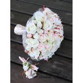 Romantic Flowers - svatební kytice a korsáž,