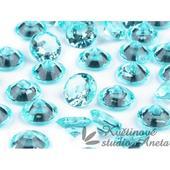 Akrylové diamanty modré,
