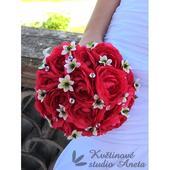 Brillant Flowers - svatební kytice z pryskyřníků,