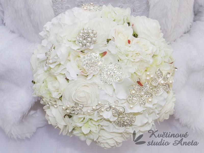 Romantic Flowers bílá - Obrázek č. 1