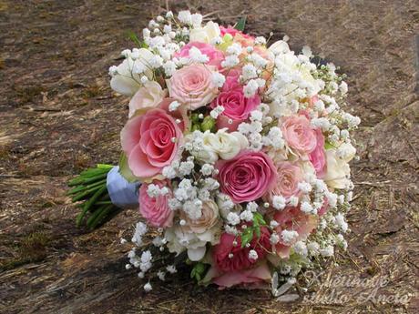 Svatební kytice Light Pink - Obrázek č. 1