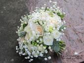 Romantická svatební kytice Creamy,
