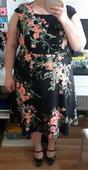 Kvetovane saty Marks&Spenceer, 46