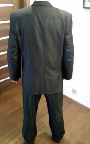 pansky tmavo sedy oblek - Obrázok č. 3