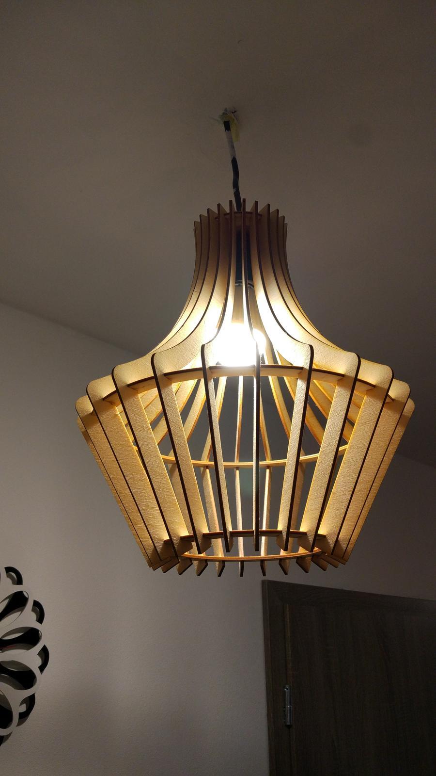 prva lampa namontovana - Obrázok č. 1