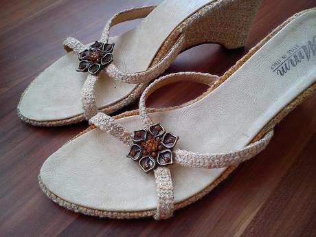 Bezove sandalky na platforme 39 - Obrázok č. 1