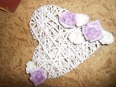dekoratívne srdcia,