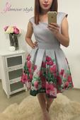 Spoločenské šaty, veľkosť 36-38, 36