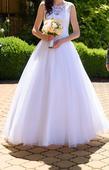 Princeznovské šaty s krajkou (vel. S - M) - 36, 36