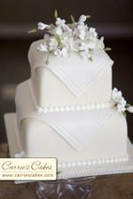 a vybíráme svatební dort....