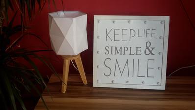 Nová lampička a světelný obrázek z Pepca