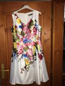 saténové elegantné šaty, 42