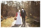 Svadobné šaty čipkované veľ. 42-44, 44