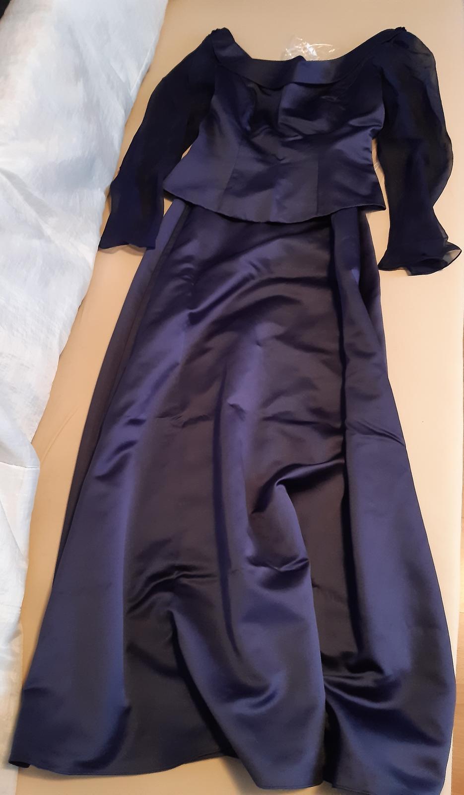 Spoločenské šaty /top+sukňa/ - Obrázok č. 1