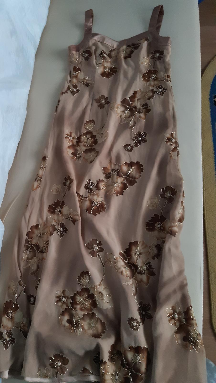 Spoločenské šaty dlhé,vyšívané - Obrázok č. 4