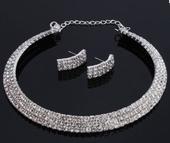 Set náhrdelník nášnice,