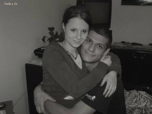 Já s mým budoucím manželem:-)