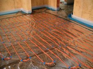 podlahové topení v koupelně