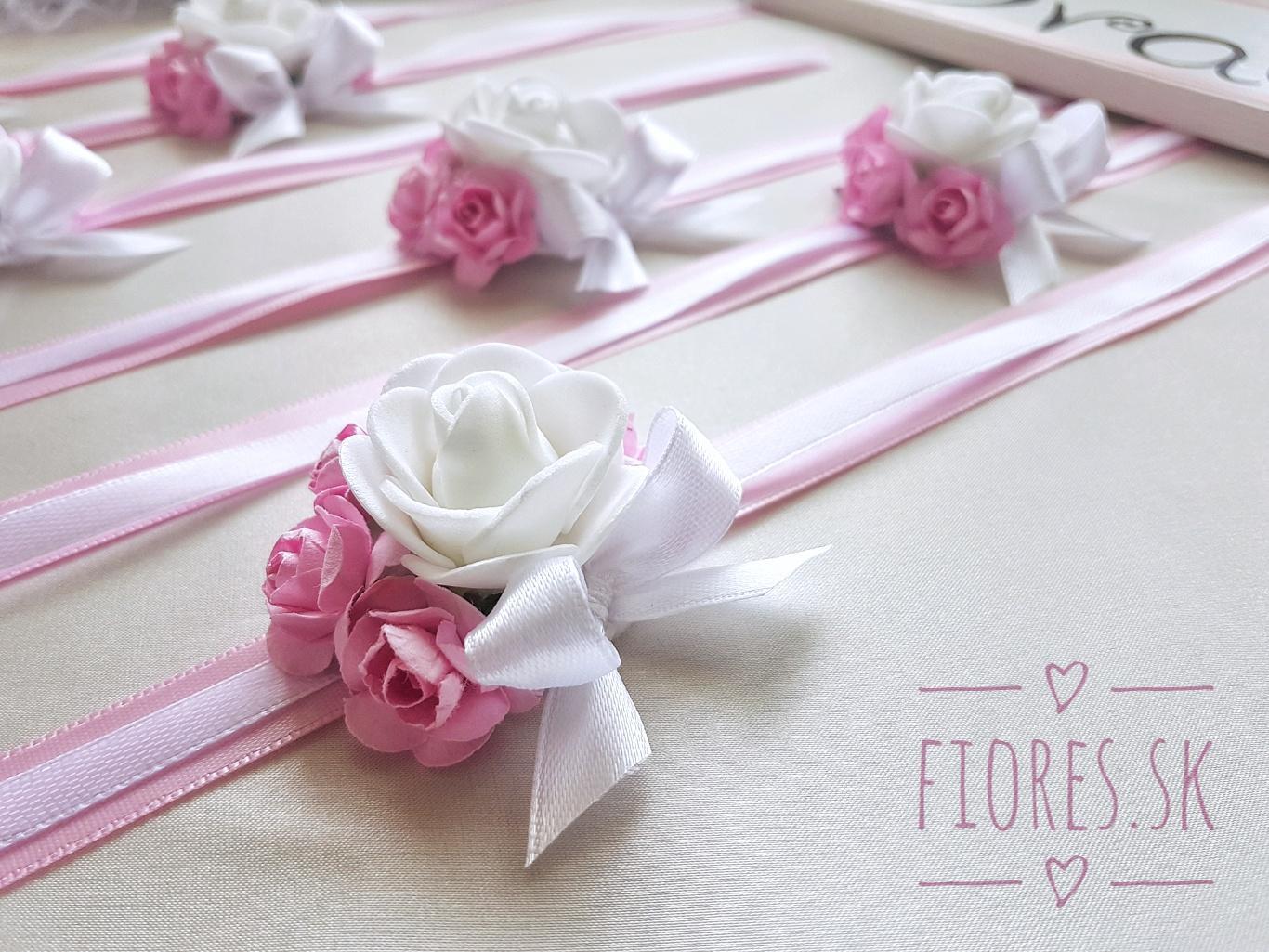 Romantická objednávka v odtieňoch ružovej pre našu nevestičku Peťku - Obrázok č. 3