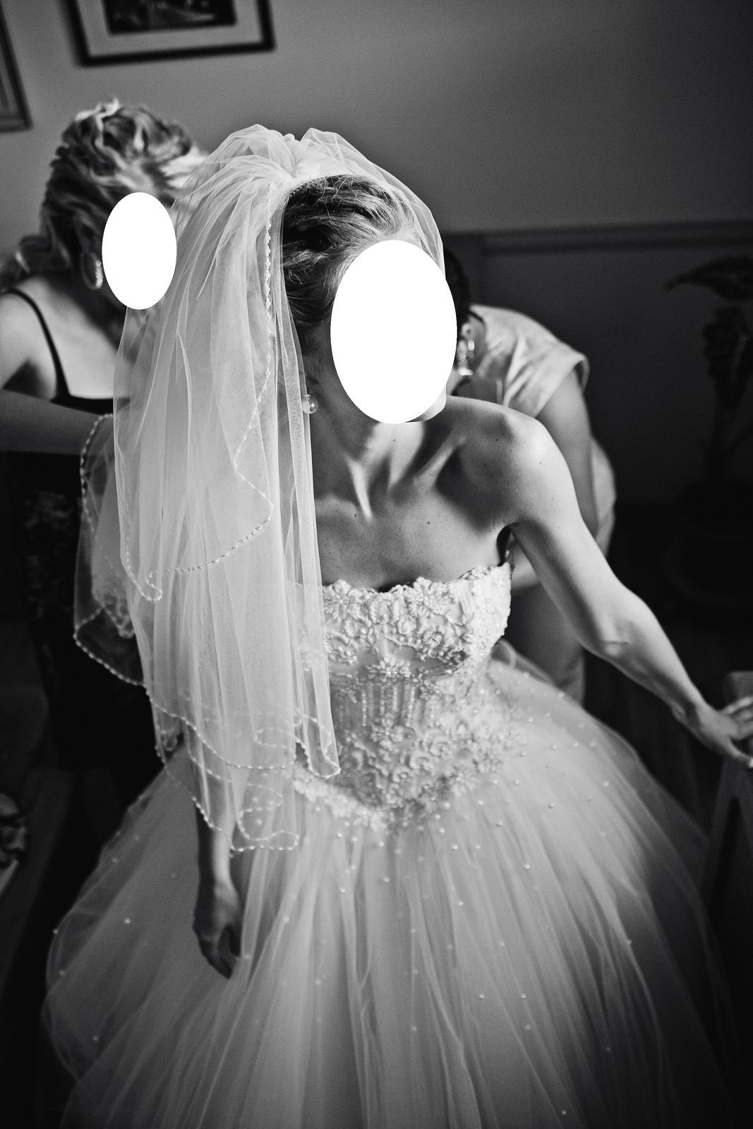 Nadherne svadobne saty (cely set) - Obrázok č. 3