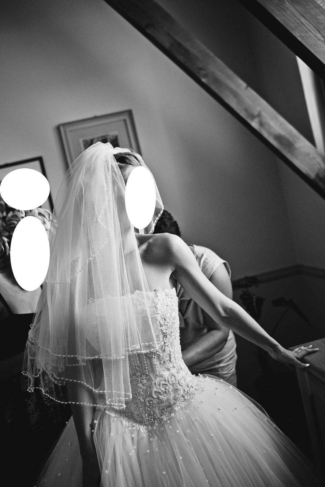 Nadherne svadobne saty (cely set) - Obrázok č. 4
