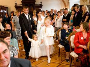 s našou dcérkou a krstniatkom
