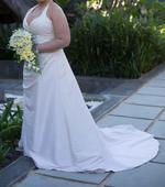 Svatební šaty - velikost 38 - 44, 42