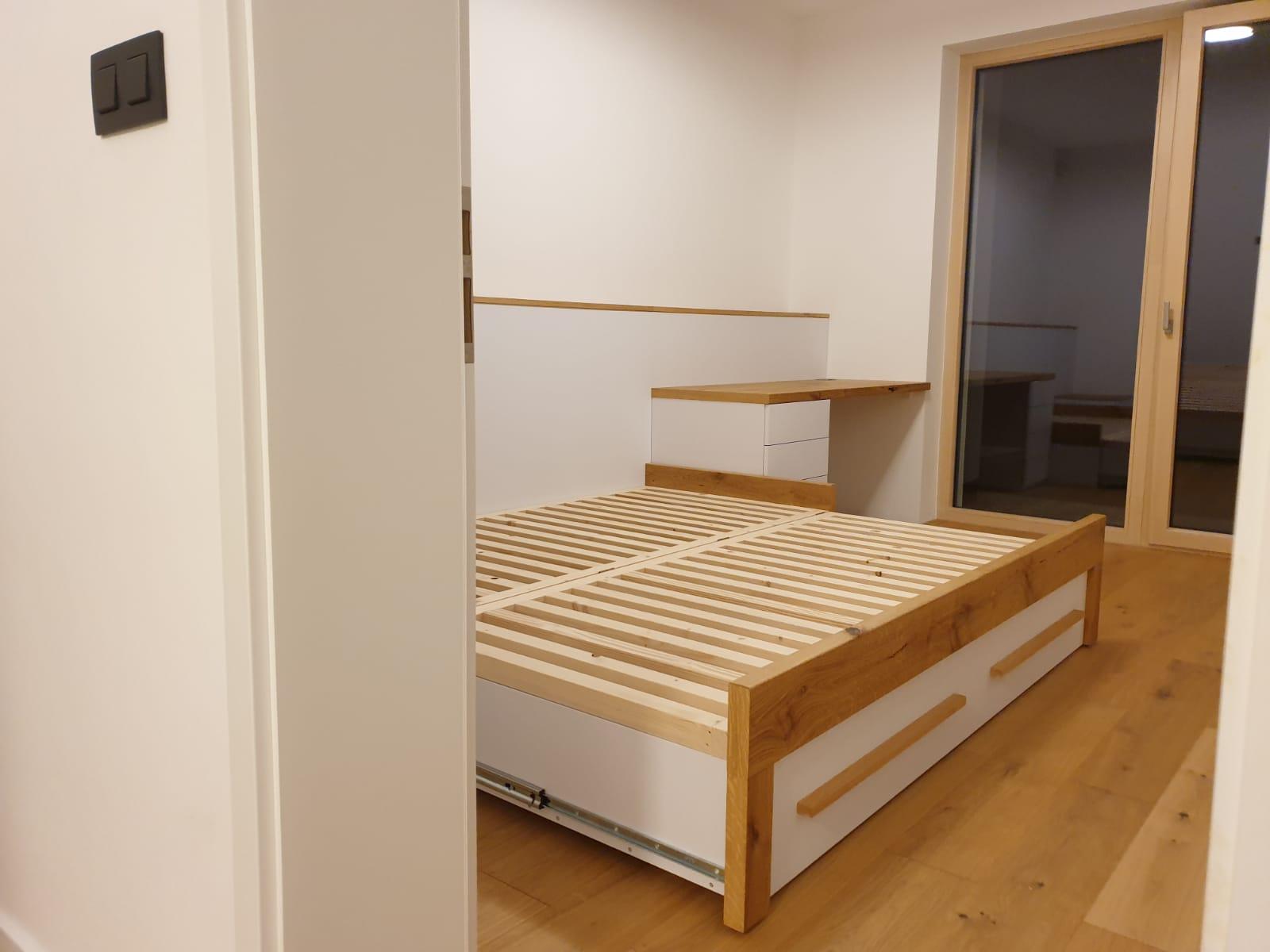 Zariadujeme nas domov pri Dunaji - Rozkladacia postel