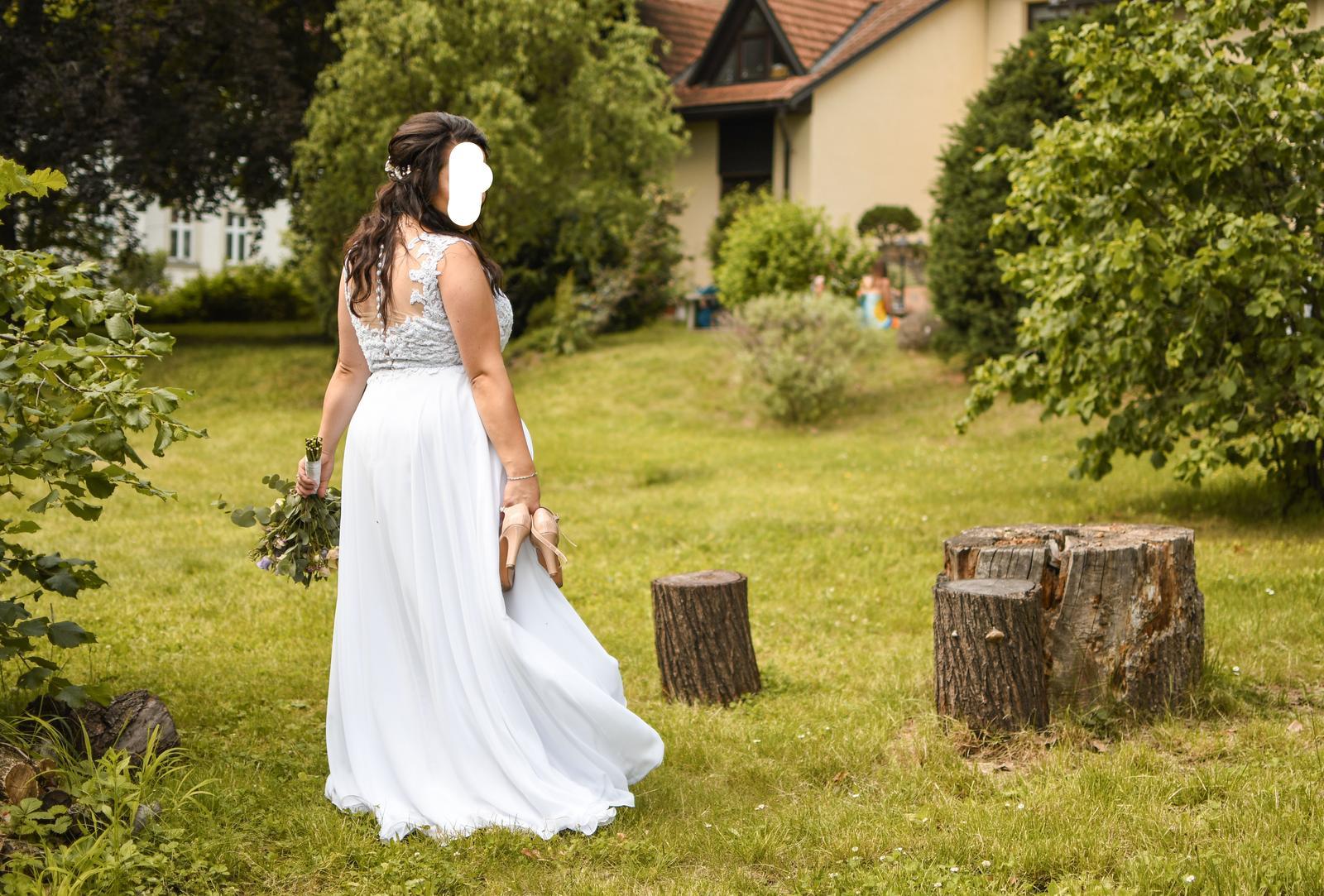 Svatební šaty Agnes, vel. 42-44 - Obrázek č. 1