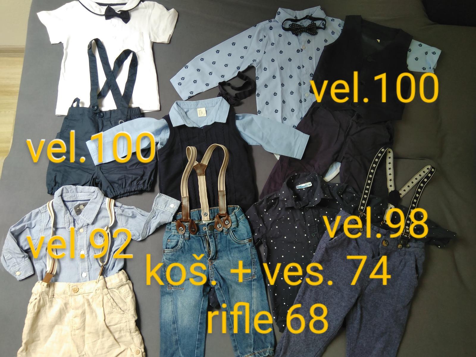 Společenské oblečení pro chlapečka - Obrázek č. 1