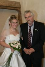 ... a já s tatínkem... strašně nerad se fotí ;o)