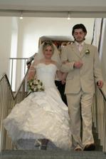 A tady už jsme manželé!!!