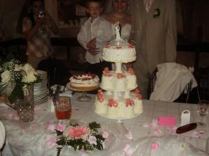 Náš dortík ... byl výbornej!