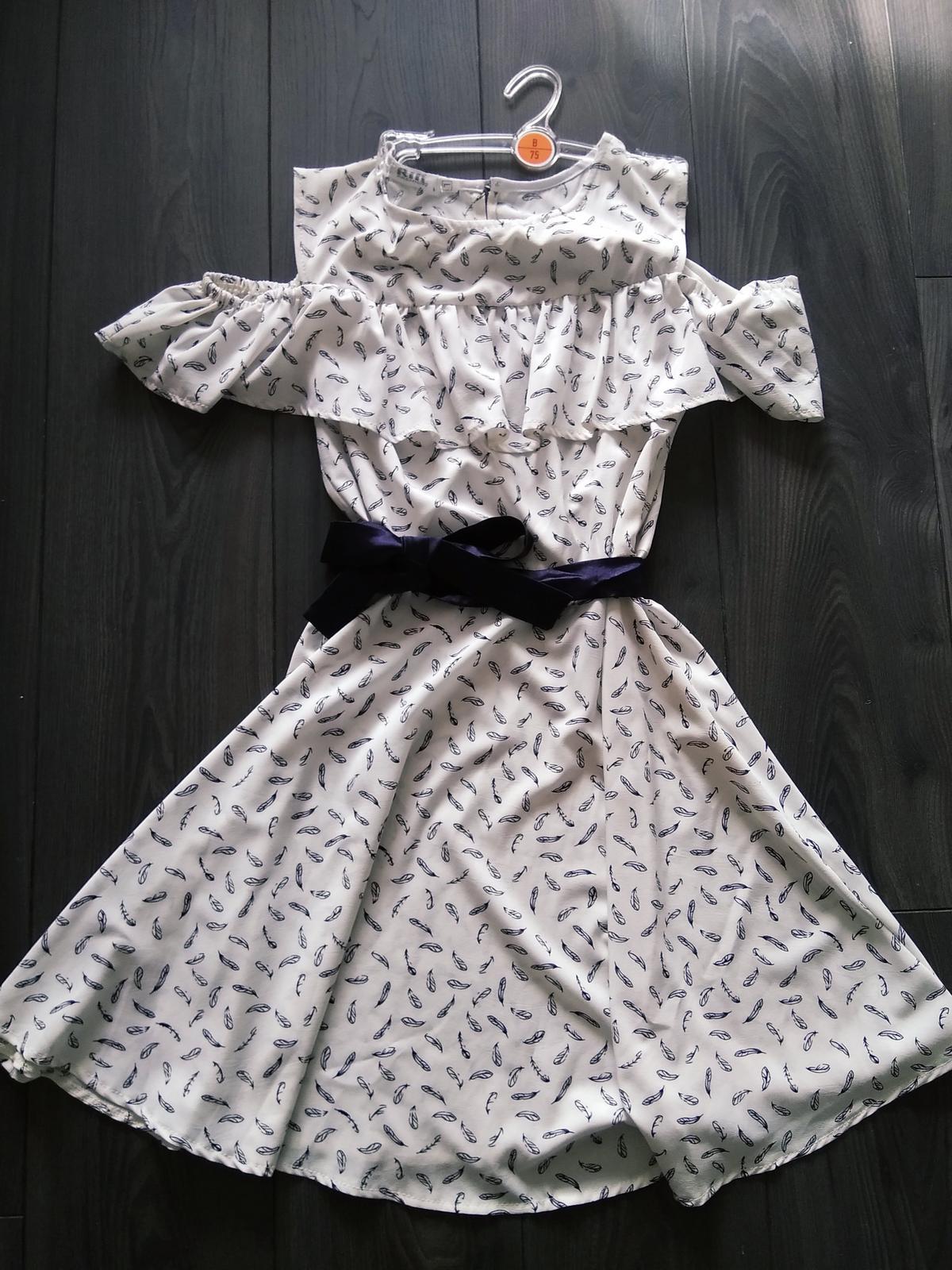 Letné krátke šaty - Obrázok č. 1