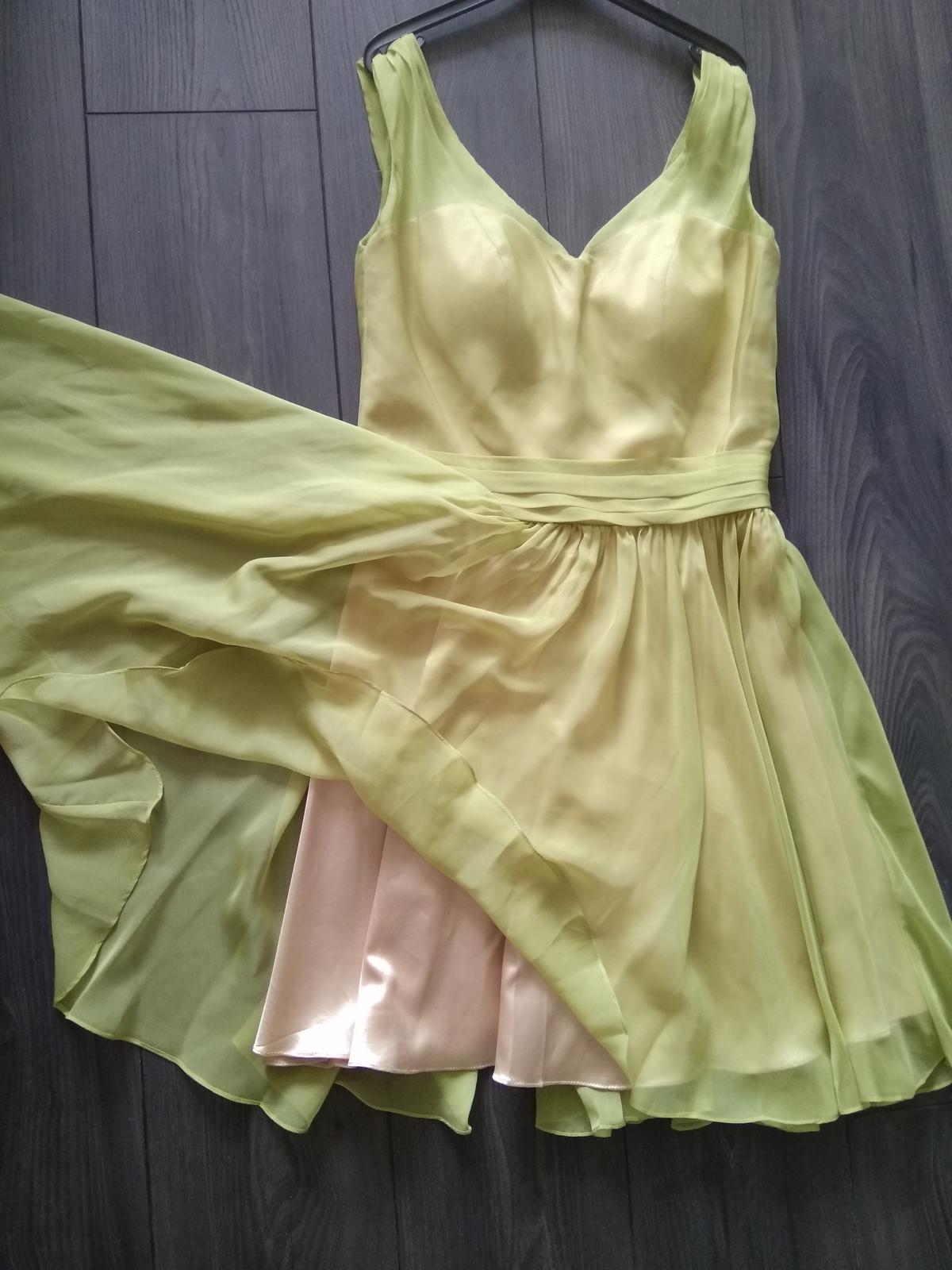Spoločenské šaty - krátke - Obrázok č. 1