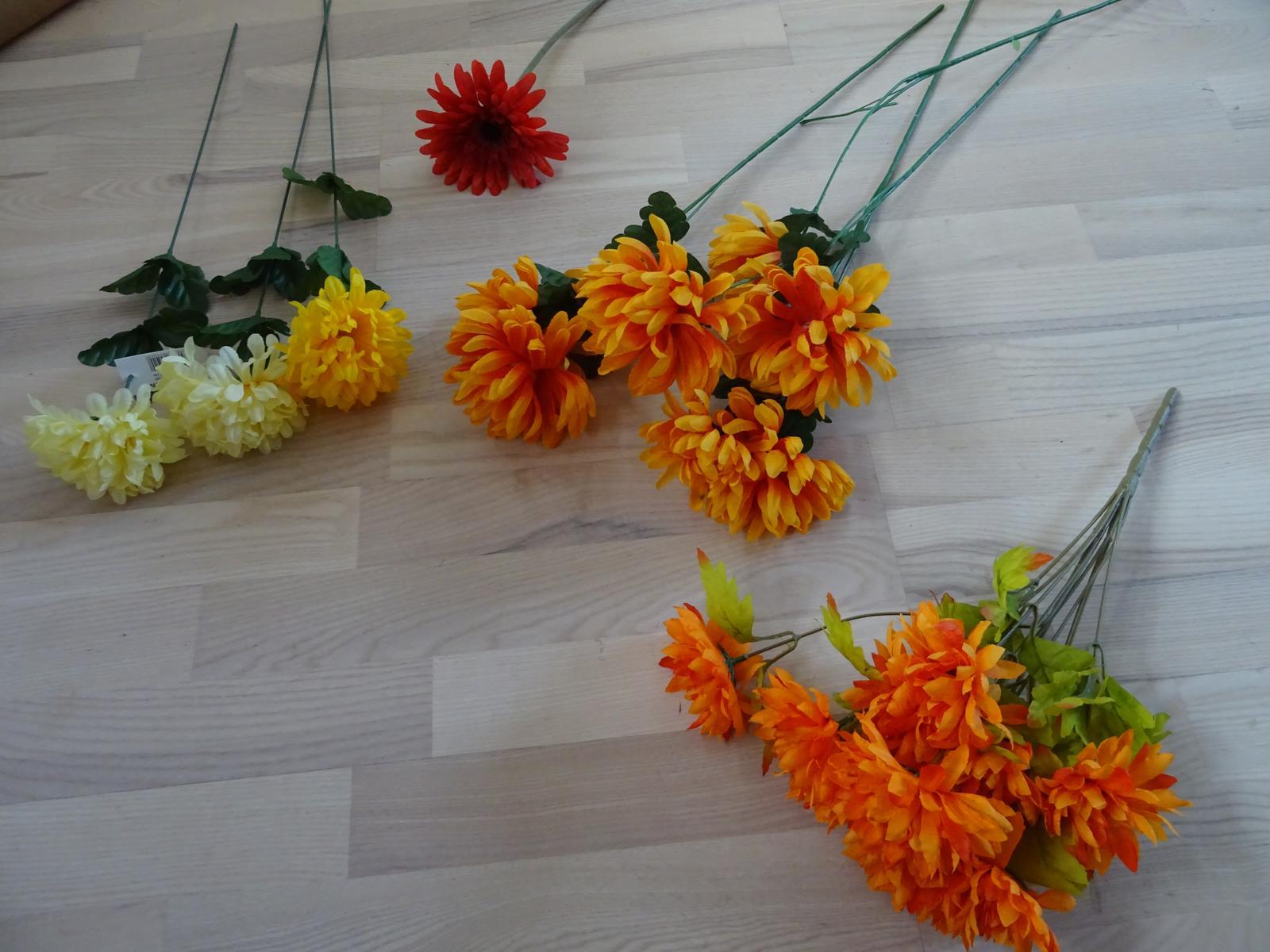 Umělé květiny - Obrázek č. 1