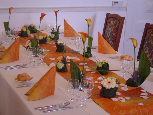 Takhle nějak si představuju svatební stůl...
