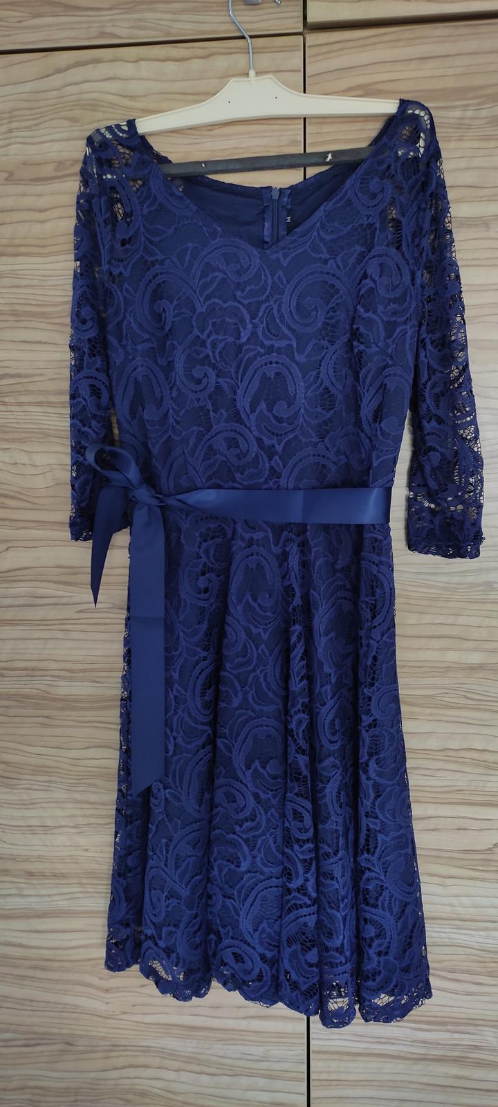 společenské šaty M - Obrázek č. 1