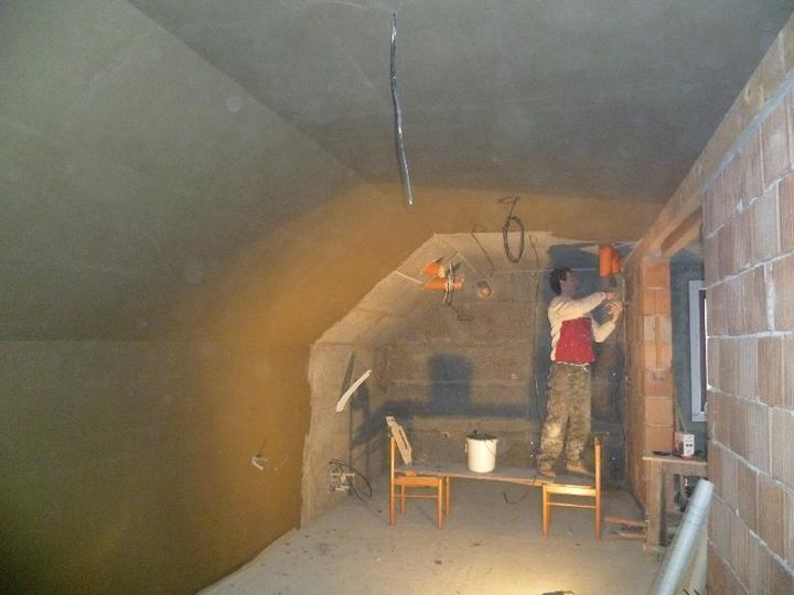 Energeticky pasívna drevostavba svojpomocou - Vnútorná stierka.
