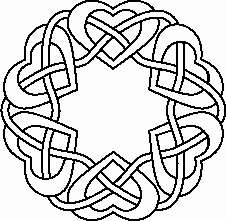 Ladida pripravy - Knotted hearts, stary Irsky a ted nas svatebni symbol :-)