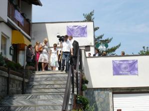 Hotel Kozi Horka na Brnenske prehrade. Zde se konala hostina a byli ubytovani vsichni hoste.