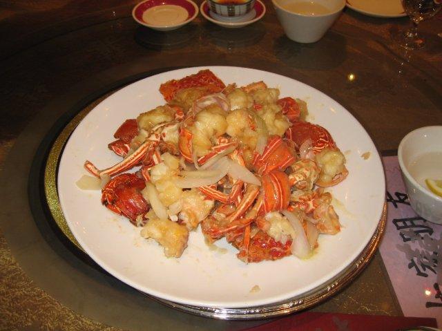 HONG KONG SVATBA (ocima ladidy..;-) - Chod c.2 - Krabi maso