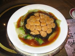 Chod c.4 - Scallops and spinache (musle a spenat)
