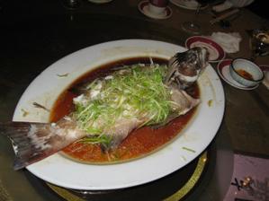 "Chod c.7 - ""Steamed Fish"" - ryba, symbol hojnosti"