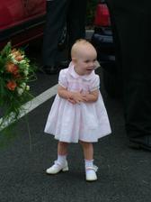 Nejmladší družička  neteřinka Lucinka