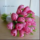 Zachvíľu to začne:) - Budeme mať fialovú výzdobu, tak asi zmením aj kytičku za túto, viac sa bude hodiť a milujem tulipány:)